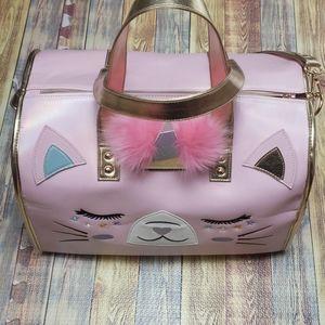 Under one Sky cat/unicorn overnight bag